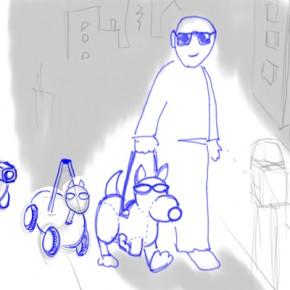 Robot guide dog