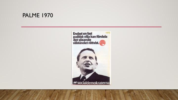 Palme, 1970