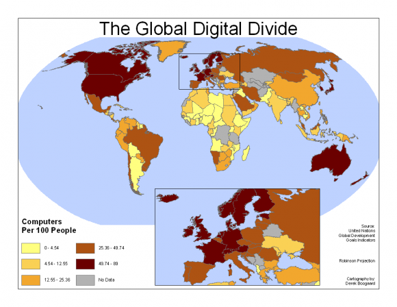 Global Digita Divide