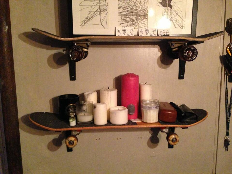 skate shelves, KondiB, 2013