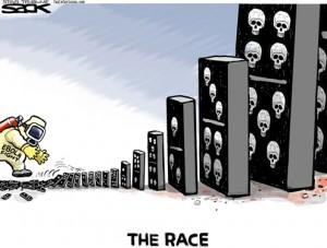 fighting-ebola-cartoon-sack