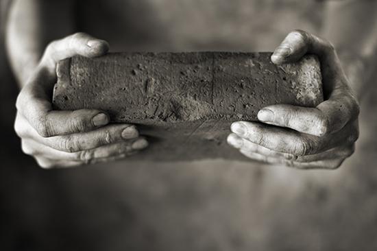 Building peace brick by brick