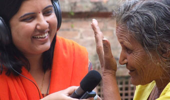 VOICES community radio pr