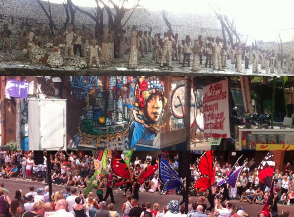 Neck Chand's Rock Garden Chandigarh; Underpass, Bangkok; Manchester Day Parade