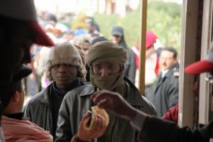 Refugees fleeing the conflict in Libya. Photo: UN Photo/David Ohana