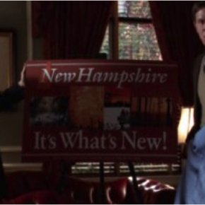 New Hampshire - It's What's New. Image from the West Wing.