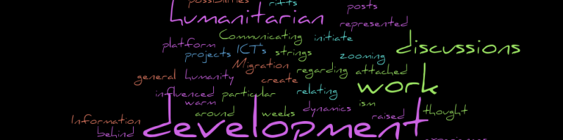 #ComDev 2.0 – Topics on the menu