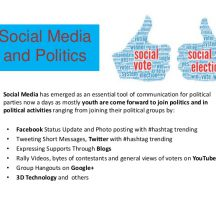 Twitter has become the main tools of communication used by politicians!