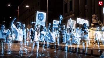 No Somos Delitos & the world's first virtual protest