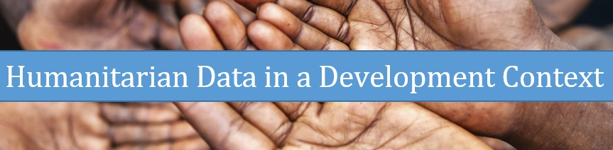 Humanitarian Data in a Development Context
