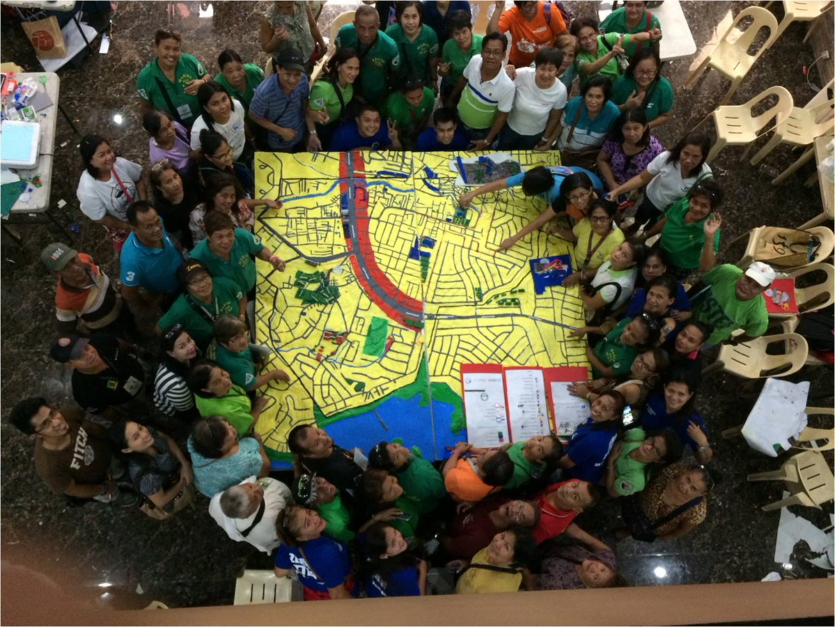 The Power of Maps: Participatory GIS for Disaster Prevention