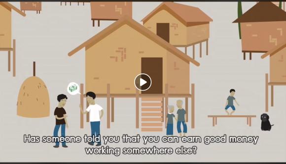 IOM X animation video safe migration