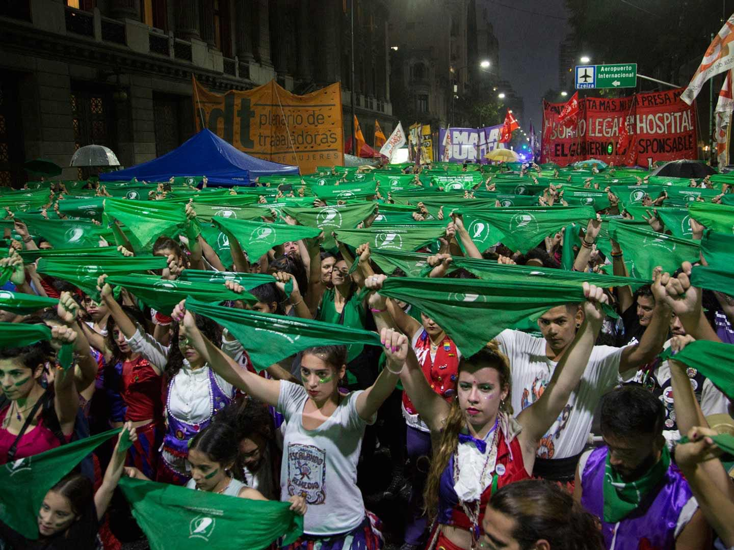 Of how an antiabortion decision can make Argentinians lose their patience: #AbortoLegalYa