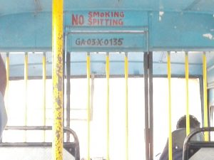 Bus in Goa II