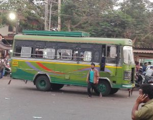 Bus in Goa