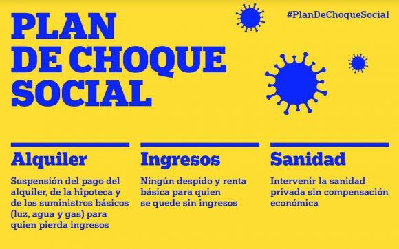 #PlanDeChoqueSocial banner